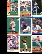 DAVID DAVE WEST LOT OF 30 ALL DIFFERENT MINNESOTA TWINS METS MEMPHIS TENNESSEE