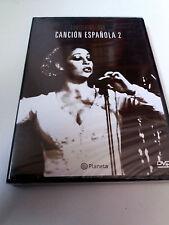 """DVD """"CANCION ESPAÑOLA 2"""" PRECINTADO ISABEL PANTOJA LOLA FLORES MANOLO ESCOBAR"""