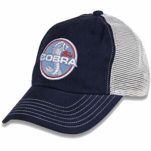 Ford SVT/Shelby Cobra Snake Trucker Hat For GT350 GT500 Cobra Fans FREE US SHIP!