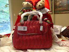 NWT Coach Madison Georgie Satchel Shoulder Bag Pink Gathered Leather 30084 $528