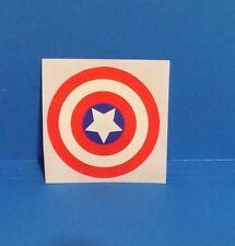 MEGO 8 Inch Captain America Figure Pre Cut Self Stick Shield Decal Mego Parts