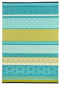 Prime Outdoor Rug Turquoise / Green