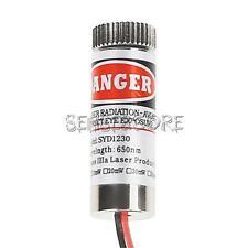 New Red Line Laser Module Focus Adjustable Laser Head 5V 5mW 650nm