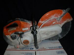 """Stihl TS420 Concrete Cut-off 14"""" Saw tested and working 001"""