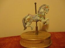"Willitts Melodies Carousel Horse Music Box ""Loveliest Night of the Year"" Theme"