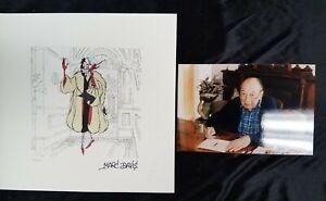CRUELLA DeVIL 101 Dalmatians Disney Treasures Etching Print SIGNED MARC DAVIS