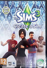 THE SIMS 3: CREATE A SIM PC GAME 2010 -PC-