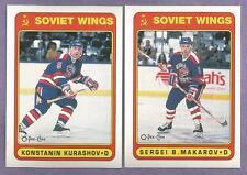 1990-91 OPC O-PEE-CHEE Soviet Wings Team Set
