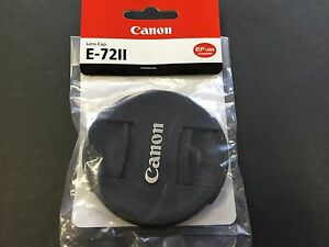 Canon Lens Cap E-72II 72mm Black L-CAPE72II Camera Lens E-72 II from JAPAN