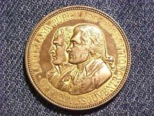 Large Brass 1904 Louisiana Purchase Expo Commemorative 34mm Token Medal M977