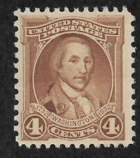 US #709 (1932) 4c Washington Bicentennial  - MNH - VF/XF