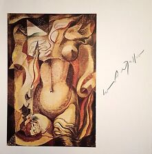 ANDRE MASSON HAND SIGNED SIGNATURE * THE ARMOUR * PRINT W/ C.O.A.