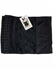 XXL - Beauforme Firm Control 'Belly Band' Waist Clincher Black XX-LARGE 33-34""