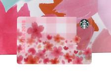 RARE Starbucks JAPAN 2018 Sakura ONLINE LIMITED Gift Card Looking Back Forward