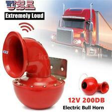 Super Loud Air System 200db 12v Train Air Horn Kit For Car Truck Boat Taxi Usa
