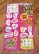 Old Nintendo Sticker Set Pokemon Pikachu Misty Game Boy 26 Stickers