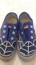 Spider-man - scarpe da bambino - biu scuro con disegno - N° 31 - USATE