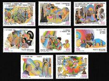 Vatican Birds Pope John Paul II Journeys 5th series 8v MNH SG#886-893 SC#795-802