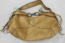 Nine West Faux Leather Beige Hand Bag W/ Small Purse Included