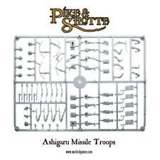 ASHIGARU MISSILE TROOPS SPRUE - PIKE & SHOTTE - WARGAMES FACTORY / WARLORD GAMES