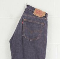 Vintage LEVI'S 501 Regular Straight Fit Men's Blue Jeans W31 L32
