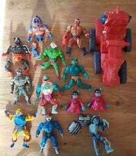 MOTU He-Man, Masters of the Universe, Action Figures Job Lot Bundle 1980s