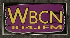 Wbcn Boston Radio Station New Mint 7.x3.75 Rare Purple Last One!