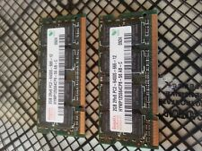 Hynix HYMP125S64CP8-S6 2GB 2Rx8 PC2-6400S Used - 2 cards