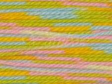 Lana Gatto :Cucciolo Stampato #6041: superwash wool yarn Green-Yellow-Pink-Blu