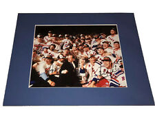 Beukeboom Kocur Kypreos - NY Rangers - Autographed Signed Stanley Cup Photo 1994