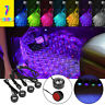Universal USB Sound Control Floor Mat Colorful LED Decorative Atmosphere Light