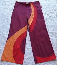 """Magnifique Pantalon Femme Leger Ethnique Hippie """" PYGMEES """" Taille M"""
