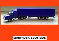 Truckrohling +++ US Mack Sattelzug (blau)
