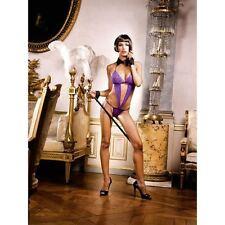 Baci Sexy Purple Lace V Teddy