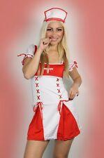 Sexy Womens Lingerie Nurse Fancy Dress Costume Clubwear