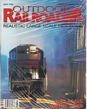 OUTDOOR RAILROADER MAGAZINE, July 1996 issue (new, never opened, shrinkwrapped)