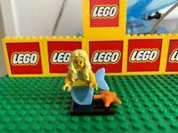 LEGO THE MERMAID figure LEGO MINIFIGURE SERIES 9 complete starfish
