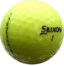 12 Srixon Z Star XV Yellow AAA/Standard Grade Golf Balls *Free Tees!*