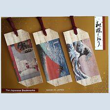 Japanese UKIYOE Bookmarks from Japan F/S
