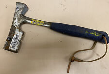 USED ESTWING E3-S USA MADE CUSHION GRIP SOLID STEEL MILLED FACE SHINGLE HATCHET