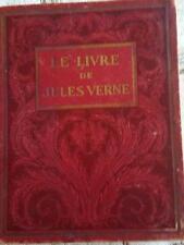 LE LIVRE DE JULES VERNE 1928 LIBRAIRIE HACHETTE