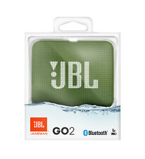 CASSA PORTATILE RICARICABILE SPEAKER BLUETOOTH JBL GO2 VERDE MUSCHIO WATERPROOF