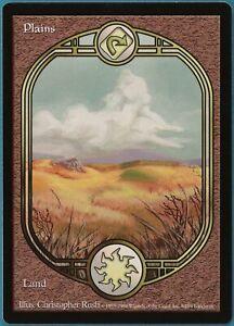 Plains Unglued NM Basic Land Extended / Full Art MTG CARD (ID# 163735) ABUGames
