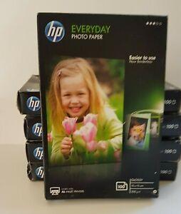 Hewlett Packard Photo Paper (100 sheets 200gsm) CR757A x 5 packs