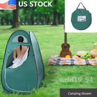 US Portable Outdoor Pop-up Toilet Dressing Fitting Room Privacy Shelter Tent