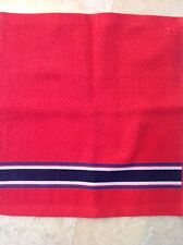 TOMMY HILFIGER WASHCLOTH RED  NAVY  13 X 13 NWT