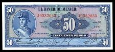 El Banco de Mexico 50 Pesos 26.JUL.1950 Serie CC, P-49c1. UNC