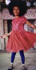 NWT 6/7 Mini Boden Deep Red Sequin Tulle Party Dress SOLD OUT $75