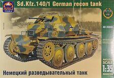 ARK35030 Ark Model Ger. reconnaissance tank Sd. Kfz. 140/1 Plastikbausatz 1:35