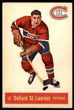 1957-58 PARKHURST DOLLARD ST. LAURENT MONTREAL CANADIENS #10 (02) JM
